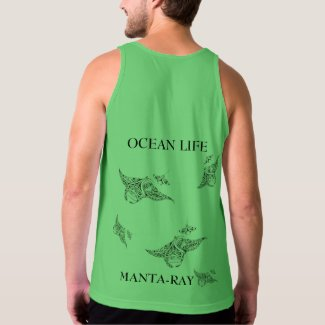 OCEAN LIFE manta-ray spirit Tank Top