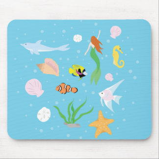 Ocean Life Mouse Pad