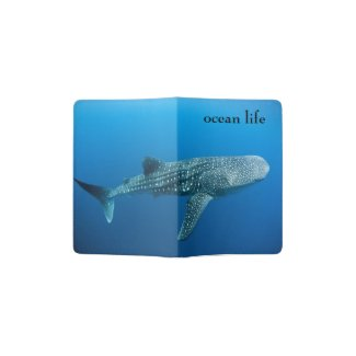 ocean life passport holder