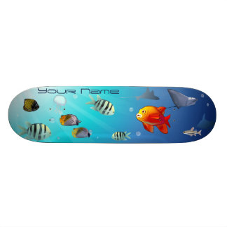 Ocean Life Skateboard Deck