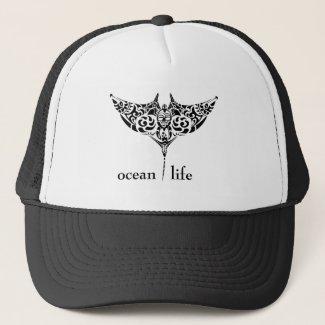 ocean life stingray