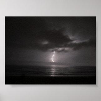 Ocean Lightning Storm 2 Poster