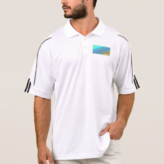 Ocean line parallelism polo shirt