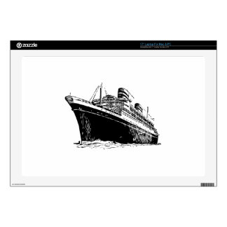 """Ocean Liner 17"""" Laptop Skins"""