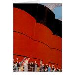 Ocean Liner Bon Voyage Card