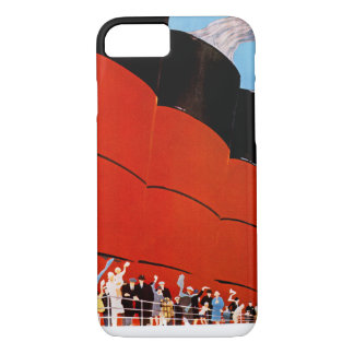 Ocean Liner Bon Voyage iPhone 7 Case