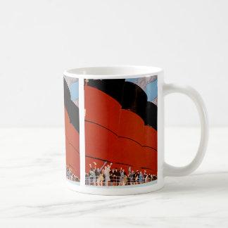 Ocean Liner Bon Voyage Classic White Coffee Mug
