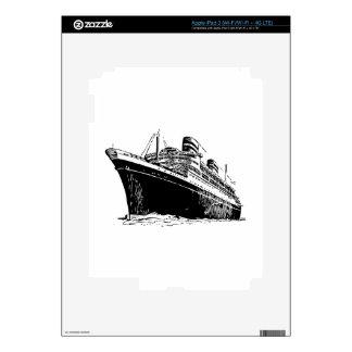 Ocean Liner iPad 3 Skins