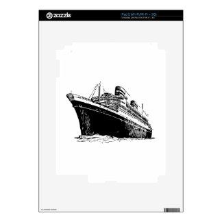 Ocean Liner Skin For iPad 2