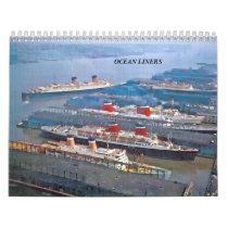 Ocean Liners Calendar