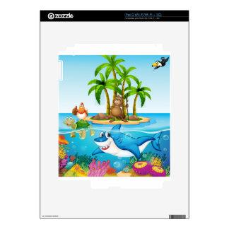 Ocean lives iPad 2 decals