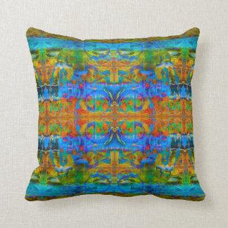 Ocean Love Art Pillow by deprise brescia