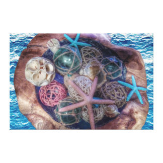 Ocean Love ❤️ Canvas Print