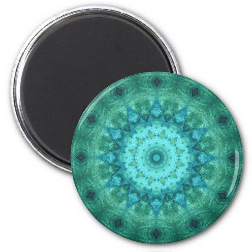 Ocean Medallion Kaleidoscope Magnet