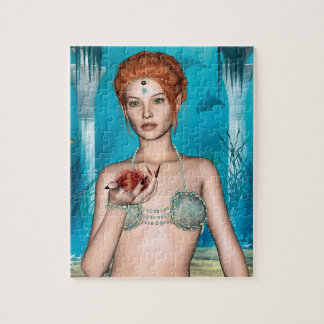 Ocean Mermaid Jigsaw Puzzle