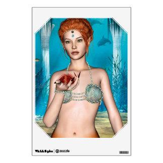 Ocean Mermaid Wall Sticker