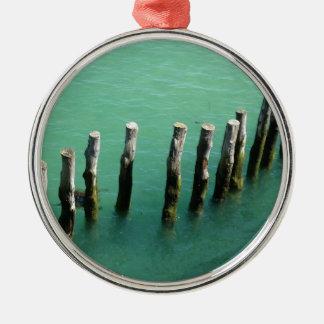 ocean metal ornament