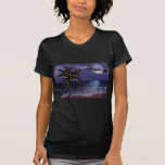 Ocean Moonlight Christmas Holiday T Shirts