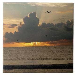 Ocean Morning Tile