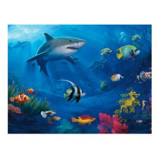 Ocean Mural Postcard