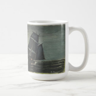 Ocean night coffee mug