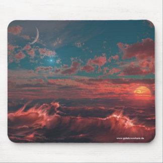 Ocean of Fire - Mousepad