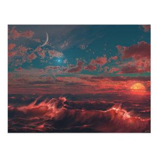 Ocean of Fire Postcard