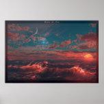 Ocean of Fire Print