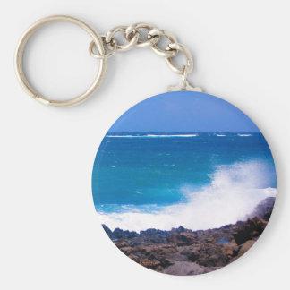 Ocean of Lanzarote Keychain