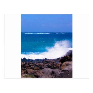 Ocean of Lanzarote Postcard