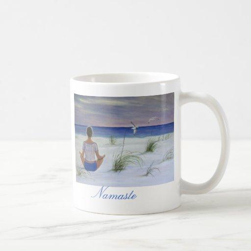 Ocean of Peace- Namaste Coffee Mug