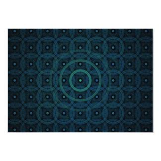 """""""Ocean of Rings"""" Fractal Art Card"""