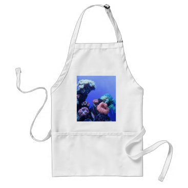 Beach Themed ocean_one adult apron