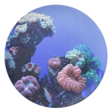 Beach Themed ocean_one dinner plate