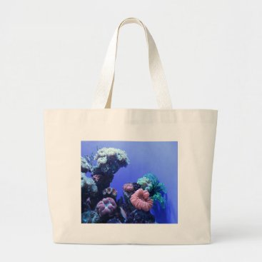 Beach Themed ocean_one large tote bag