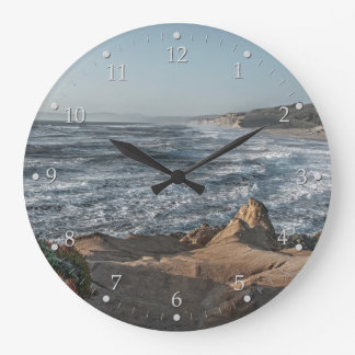 Ocean Overlook Large Clock