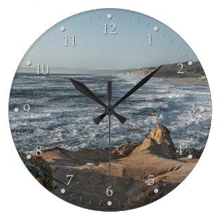 Ocean Overlook Large Clock
