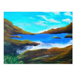 Ocean Painting Postcard