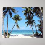 "Ocean Palm Trees Print<br><div class=""desc"">Ocean Palm Trees Print</div>"