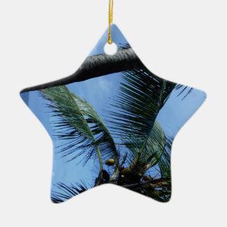 Ocean, Palms, and Yachts Christmas Ornaments