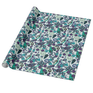 Ocean Passion Linen Wrap Gift Wrapping Paper