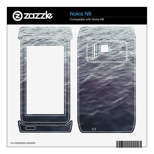 Ocean Pattern Decals For The Nokia N8