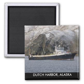 Ocean Peace, Factory Trawler in Dutch Harbor, AK Magnet