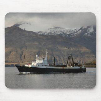 Ocean Peace, Factory Trawler in Dutch Harbor, AK Mouse Pads