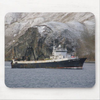 Ocean Peace, Factory Trawler in Dutch Harbor, AK Mouse Pads