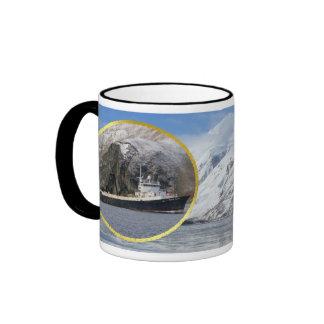 Ocean Peace, Factory Trawler in Dutch Harbor, AK Coffee Mug