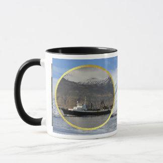 Ocean Peace, Factory Trawler in Dutch Harbor, AK Mug