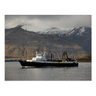 Ocean Peace, Factory Trawler in Dutch Harbor, AK Postcard