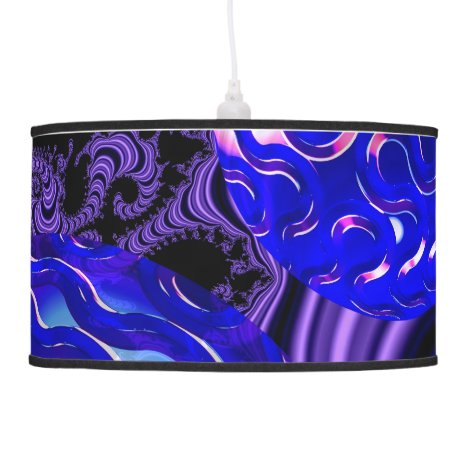 Ocean Pearls, Abstract Treasures from the Deep Ceiling Lamp