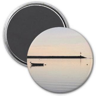Ocean photo 3 inch round magnet